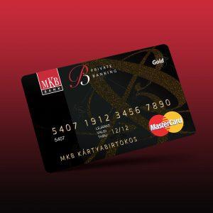 MKB Private Bank bankkártya design